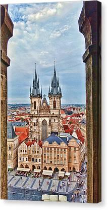 Prague 04 Canvas Print by James Bond