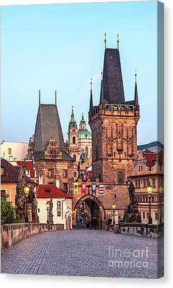 Prague 08 Canvas Print by Tom Uhlenberg