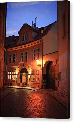 Prague 15 Canvas Print by James Bond