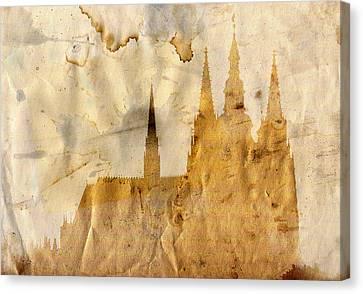Prague Castle Canvas Print by Michal Boubin