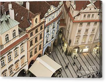 Prague. Old Town Square Canvas Print by Juli Scalzi