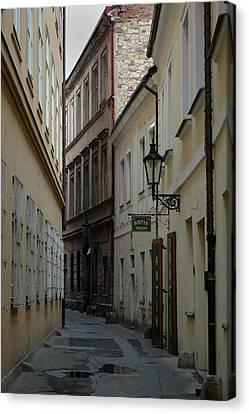 Canvas Print featuring the photograph Prague by Steven Richman