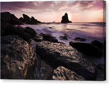 Praia Da Adraga Canvas Print by Andre Goncalves