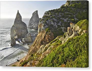 Praia Da Ursa Portugal Canvas Print