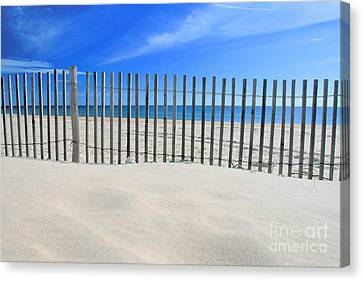 Praia Do Cabeco Canvas Print by Carl Whitfield