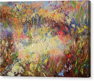 Prairie Dance Canvas Print by Rose Fisher
