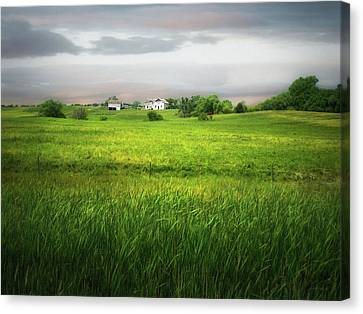 Prairie Farm Canvas Print