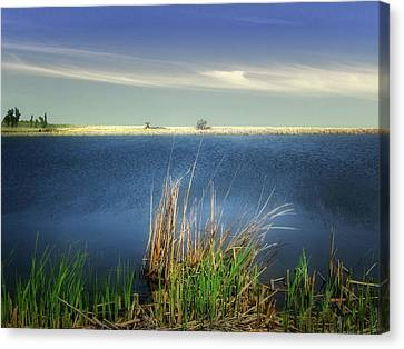 Prairie Lake Canvas Print
