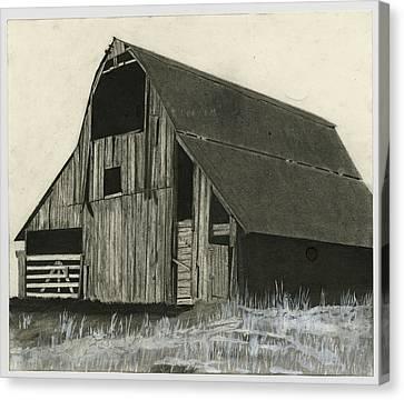 Prairie Overlook Canvas Print by Bryan Baumeister