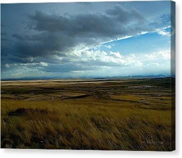 Prairie Storm Canvas Print