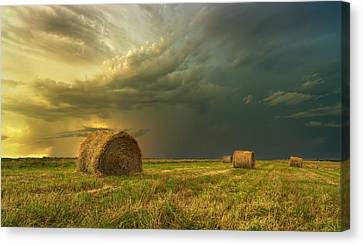 Prairie Storms Canvas Print