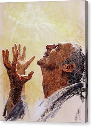 Presence Canvas Print - Praise. I Will Praise Him  by Graham Braddock