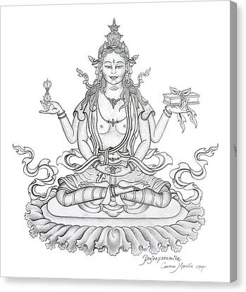 Prajnaparamita -perfection Of Wisdom Canvas Print