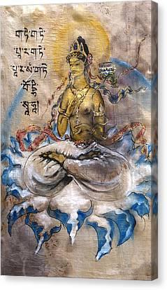 Prajnaparamita  Canvas Print