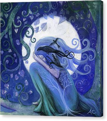 Prayer Canvas Print by Amanda Clark