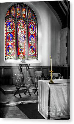 Prayers And Hope Canvas Print by Adrian Evans