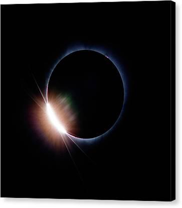 Pre Daimond Ring Canvas Print