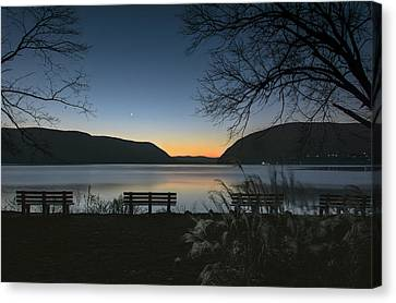Dawn At Plum Point Canvas Print