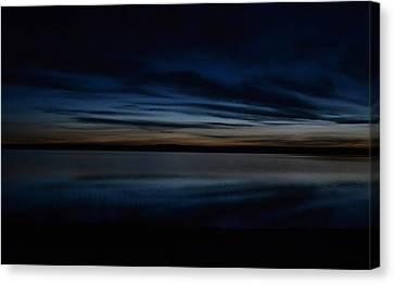 Pre-dawn's Glow Canvas Print