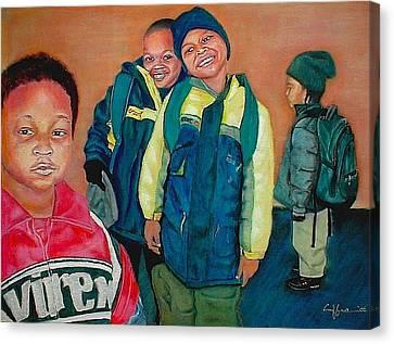 Pre-school Pre-you Canvas Print by G Cuffia