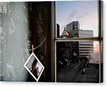 Canvas Print featuring the photograph Pre-visualization by Peter J Sucy