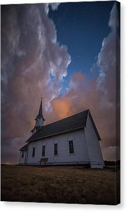Canvas Print featuring the photograph Preacher by Aaron J Groen