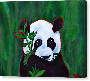 Precious Panda Canvas Print