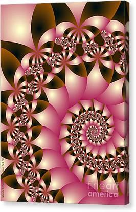 Precious Canvas Print by Sandra Bauser Digital Art