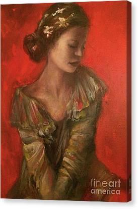 Redlight Canvas Print - Precocious by Tara Hunt