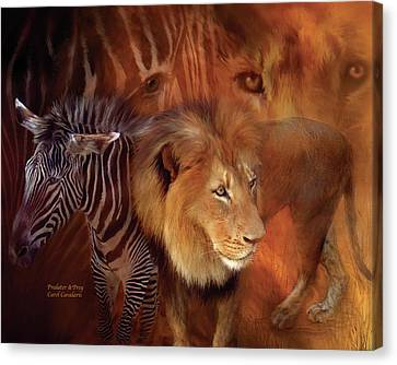 Predator And Prey Canvas Print