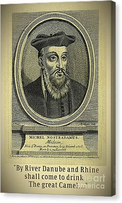 Predictions Of Nostradamus 1 Canvas Print