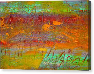 Prelude To A Sigh Canvas Print