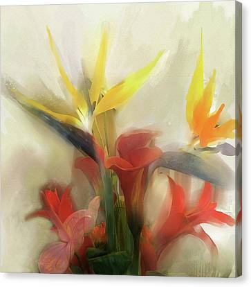 Prelude To Autumn Canvas Print