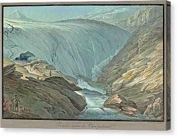 Premiere Source Du Rhin Posterieur Canvas Print