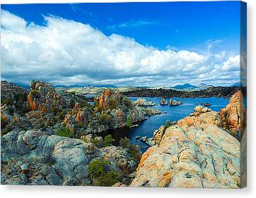 Prescott Rocks Canvas Print