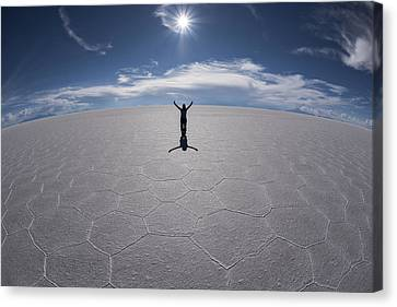 Salt Flats Canvas Print - Preservation by Aaron Bedell
