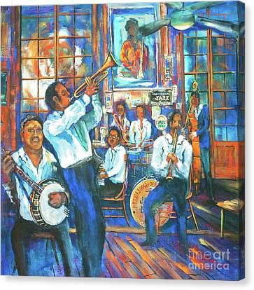 Preservation Jazz Canvas Print