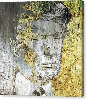 Democrats Canvas Print - President Donald Trump  by Tony Rubino