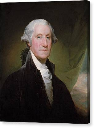 Revolutionary Canvas Print - President George Washington by War Is Hell Store