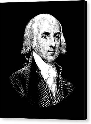 James Madison Canvas Print - President James Madison Graphic by War Is Hell Store