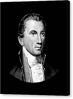 President James Monroe  Canvas Print