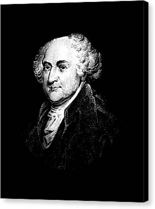 President Adams Canvas Print - President John Adams Graphic by War Is Hell Store