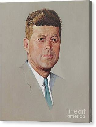 portrait of a President Canvas Print