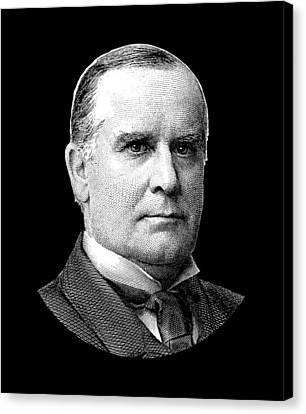 President Mckinley Graphic Canvas Print by War Is Hell Store