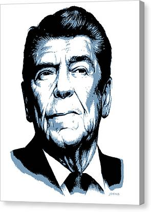President Reagan Canvas Print by Greg Joens