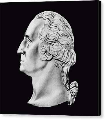 President Washington Bust  Canvas Print