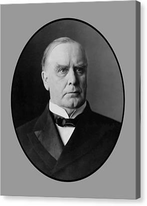 President William Mckinley  Canvas Print