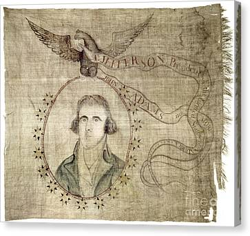 Presidential Campaign: 1800 Canvas Print by Granger