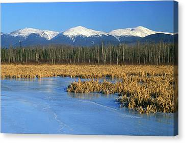 Presidential Range From Pondicherry Refuge Canvas Print by John Burk