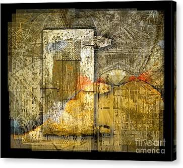 Presidio Door Canvas Print by Chuck Brittenham